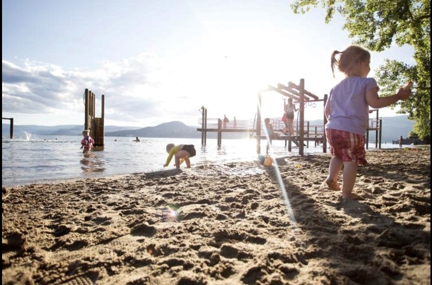 The Okanagan is dotted with fabulous beaches!